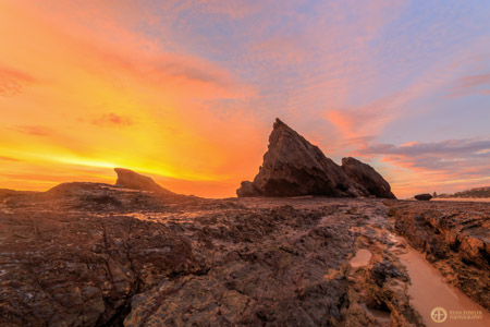 Currumbin Rock Sunrise | QLD