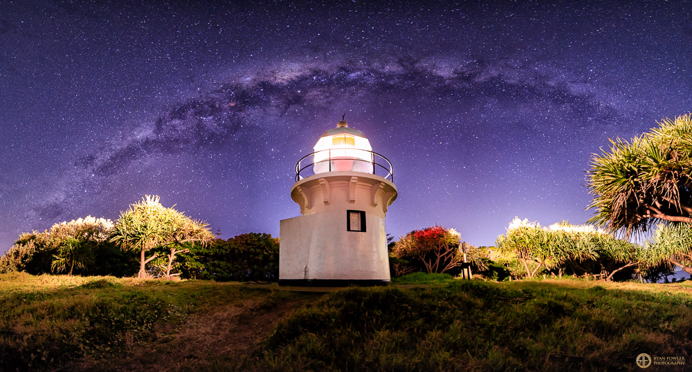 Fingal Head Lighthouse Milky Way | NSW