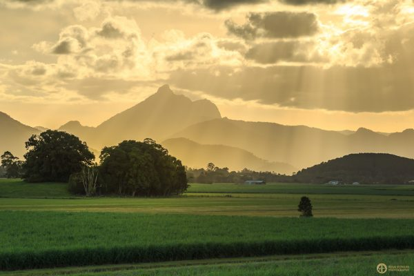 Woolumbin (Mt.Warning) Sunset | NSW
