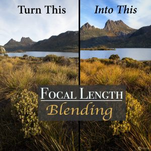 Learn focal length blending