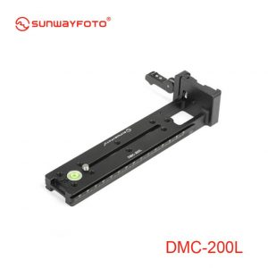 Sunwayfoto DMC-200LR Vertical Rail with (on-end) Clamp