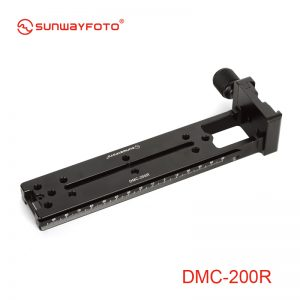 Sunwayfoto DMC-200R Vertical Rail with (On-End) Clamp