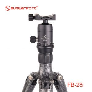Sunwayfoto FB-28i Ballhead with Screw-Knob Clamp DDC-37