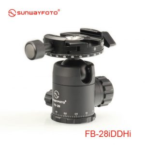 Sunwayfoto FB-28iDDHi Ballhead with Panning Clamp DDH-06