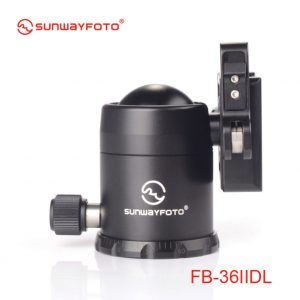 Sunwayfoto FB-36IIDL Ballhead with Duo lever Clamp