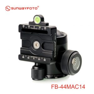 Sunwayfoto FB-44IIMAC14 Ballhead with with Manfrotto/Arca Compatible Clamp