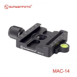 Sunwayfoto MAC-14 Arca & Manfrotto Compatible Clamp