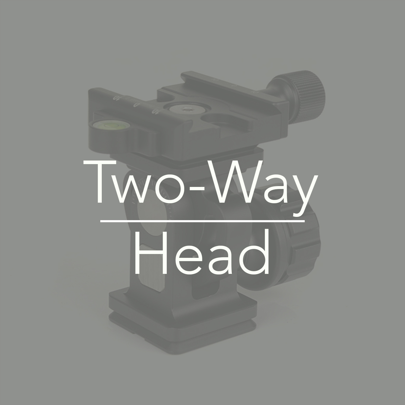 Sunwayfoto Two way monopod head