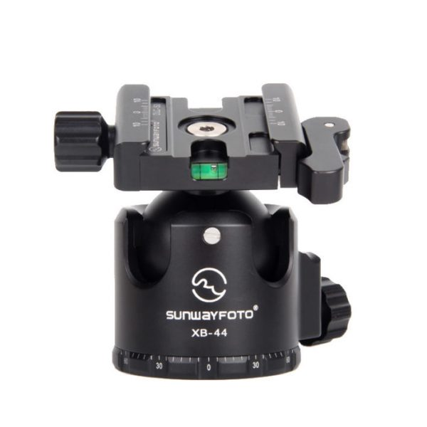 Sunwayfoto XB-44DL Low-Profile Ball Head with Duo-lever Clamp