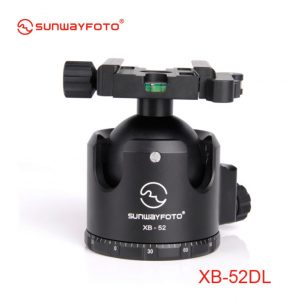 Sunwayfoto XB-52DL Low-Profile Ball Head with Duo-lever Clamp