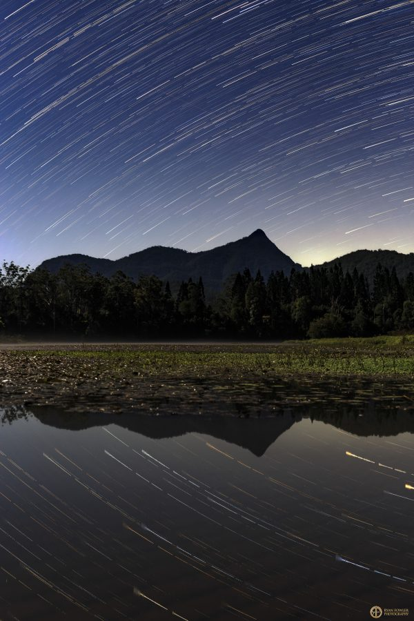 Mount Warning Star Trails | NSW