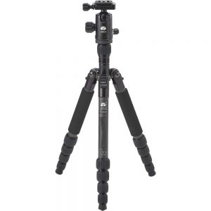 Sirui T-025X Ultra Light Carbon Fibre Travel Tripod with C-10S head