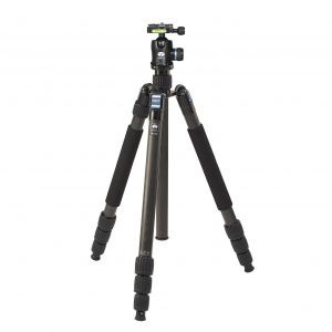 Sirui W-2204 Carbon Fibre Waterproof Tripod with K-20x Ball Head
