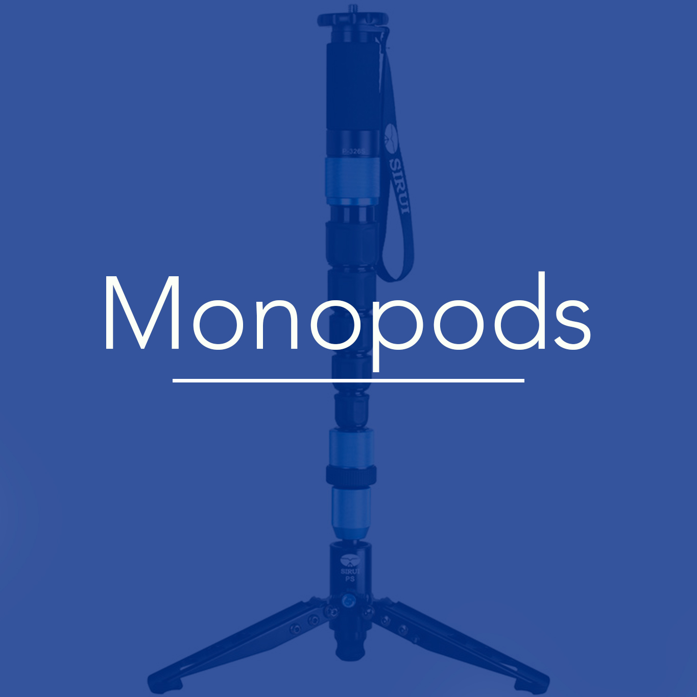 Sirui Tripods and Monopods