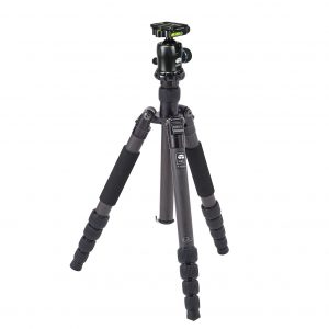 Sirui T-1205X 5-Section Carbon Fibre Tripod with K-10x Ball Head