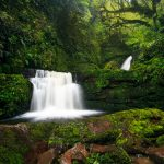 Lower section of McLean Falls, Catlins National Park, South Island, New Zealand