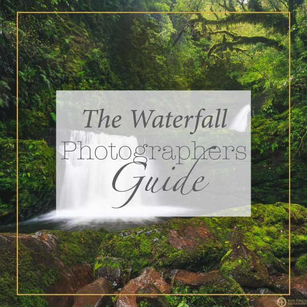 How to photograph waterfalls and post processing