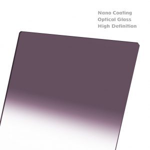 NiSi 150x170mm Nano IR Hard Graduated Neutral Density Filter – GND8 (0.9) – 3 Stop
