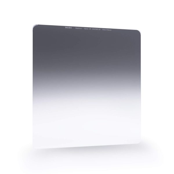 NiSi 150x170mm Nano IR Medium Graduated Neutral Density Filter – ND16 (1.2) – 4 Stop