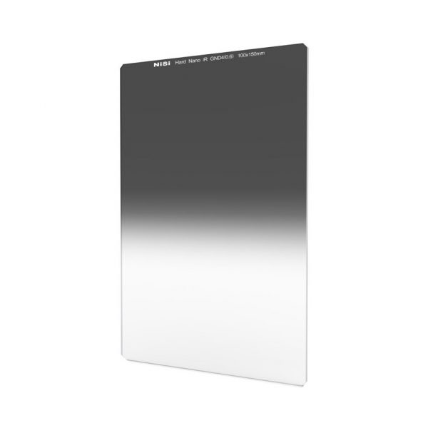 NiSi 100x150mm Nano IR Hard Graduated Neutral Density Filter – GND4 (0.6) – 2 Stop
