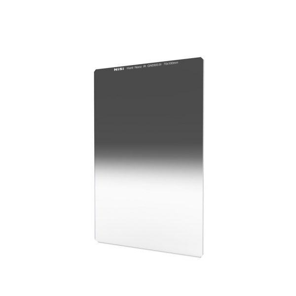 NiSi 70x100mm Nano IR Hard Graduated Neutral Density Filter – GND8 (0.9) – 3 Stop