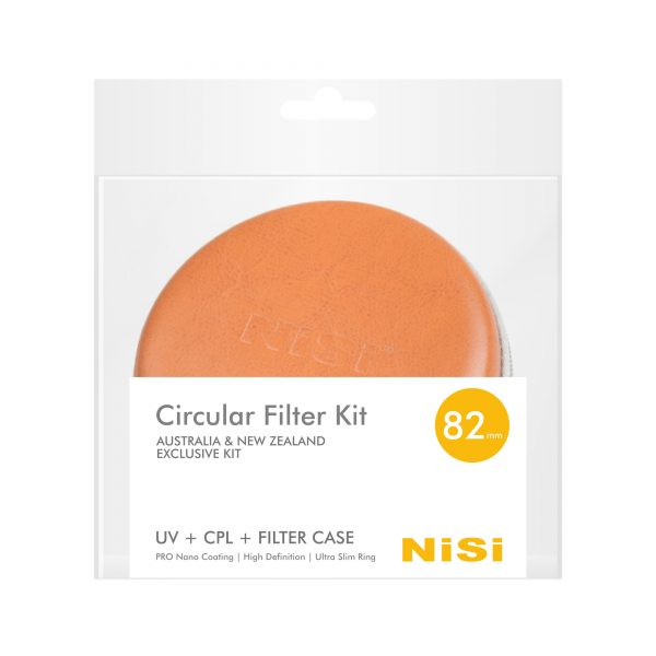 NiSi 82mm Circular Filter Kit with UV+CPL+ Filter Case