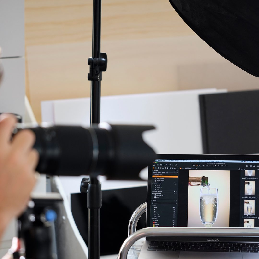 Capture One Pro Australia Affiliate Shooting Tethered Studio