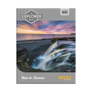 NiSi Explorer Collection 100x100mm Nano IR Neutral Density filter – ND64 (1.8) – 6 Stop