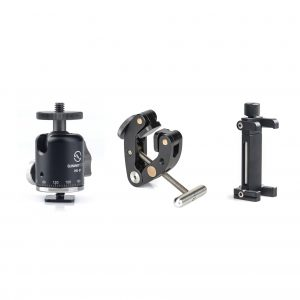 Sunwayfoto PF-01 T1 Kit with Titan Clamp + Mini Ballhead + Mobile Phone Bracket